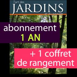Abonnement 1 an + coffret France