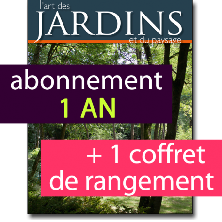 Abonnement int gral 1 an au magazine l 39 art des jardins for Maison francaise magazine abonnement