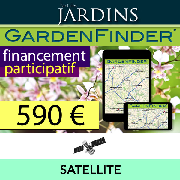 L'Art des Jardins - GardenFinder - Offre Satellite